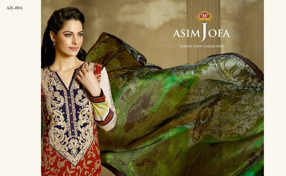 Asim Jofa Summer Collection 2016-17