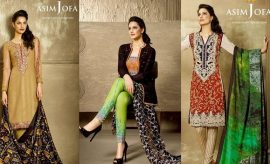 Asim Jofa New Luxury Lawn Summer Dresses Collection 2016-2017