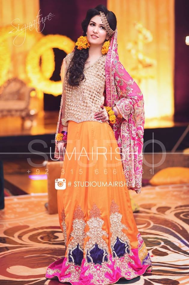 Bridal Ghagra Choli Designs 2017-2018 Exclusive Collection