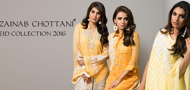 Zainab Chottani Formal Eid Dresses 2016-2017 (1)