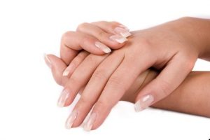 healthy white nails
