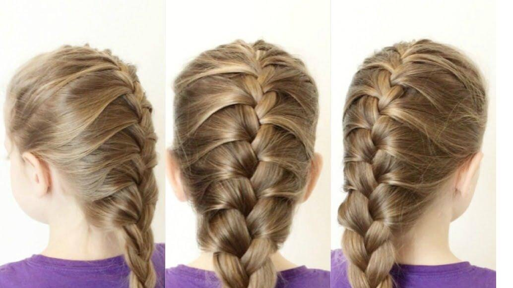 To braid french hair step by catalog photo