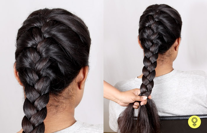 how to do french braid (2)