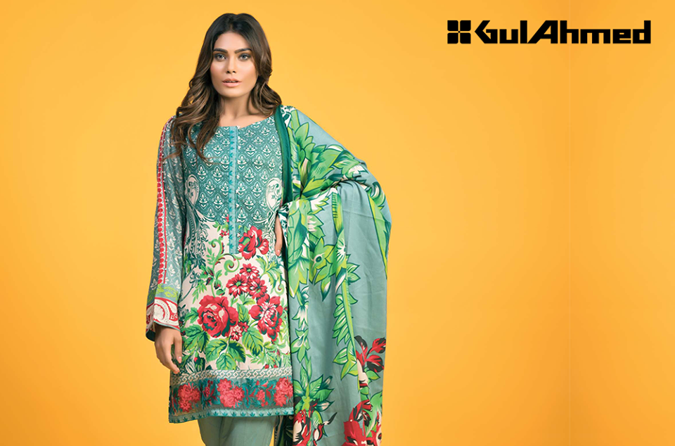 gul Ahmed Winter Pali suits
