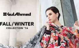 Gul Ahmed Fall Winter Dresses Latest Collection 2017 with Prices