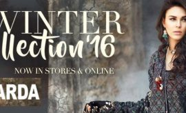 Warda Designer Fall Winter Collection 2016-2017 with Prices
