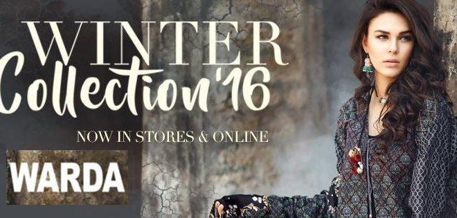 warda designer winter collection 2016-2017 designs