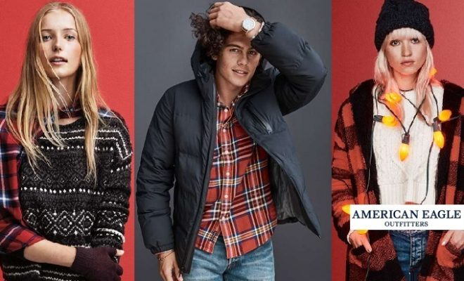 American Eagle Outfitters Fall Winter Dresses 2016-2017 Designs