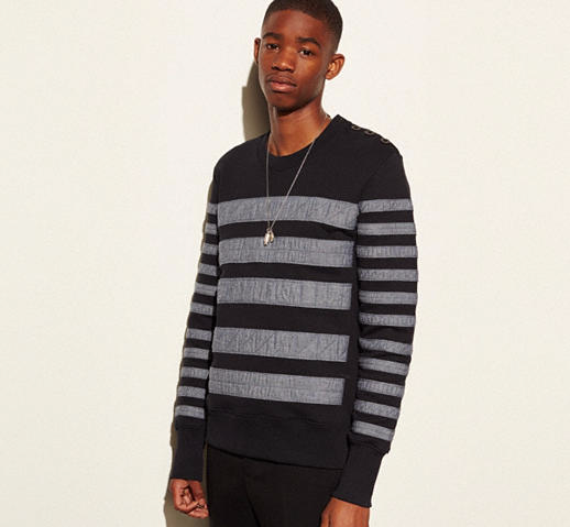 Taped Sweatshirt by coach 2016 collection