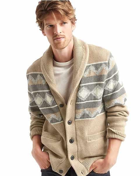 isle cardigan winter wear for men