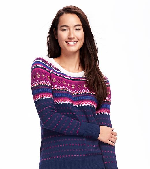 fair multistripe sweater by Old Navy