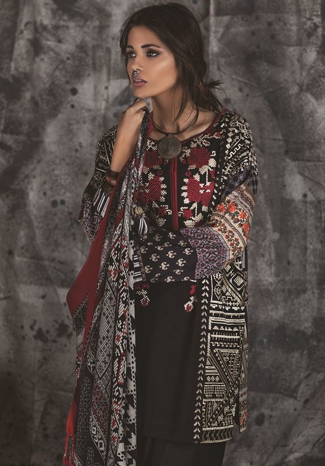 ethnic winter dresses 2016-2017
