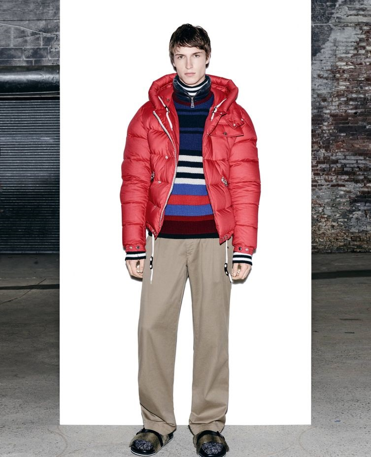 Moncler winter crew neck jacket