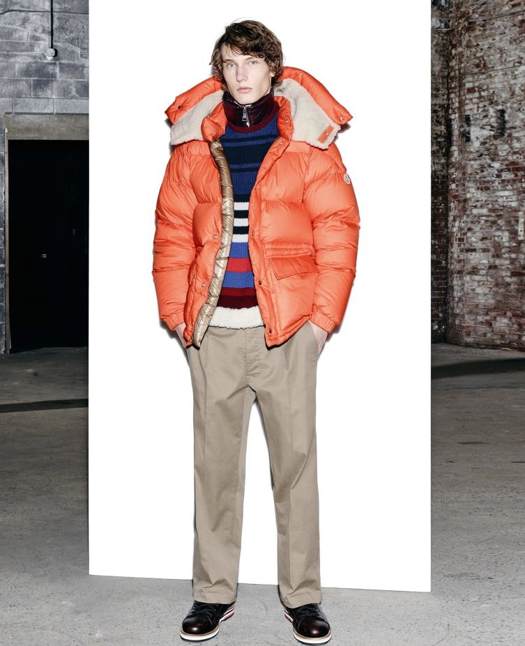 Moncler double layered winter jacket
