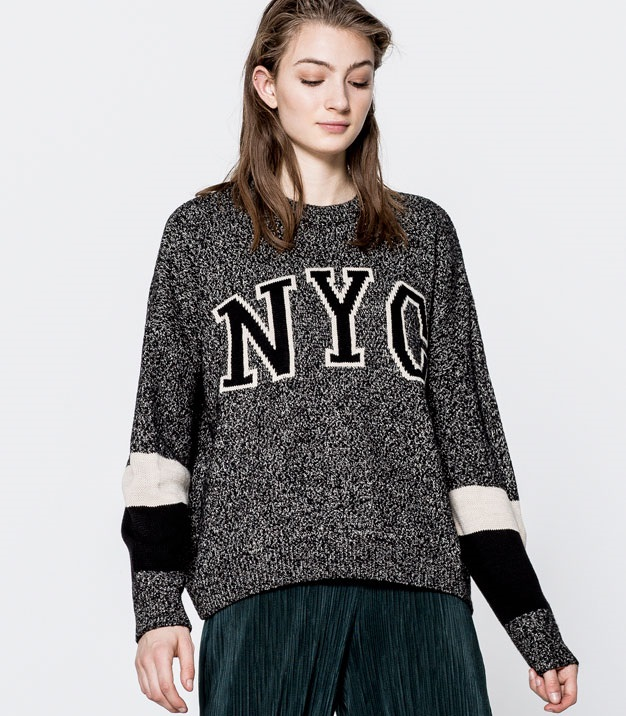 The NYC knit sweater by Pull & Bear