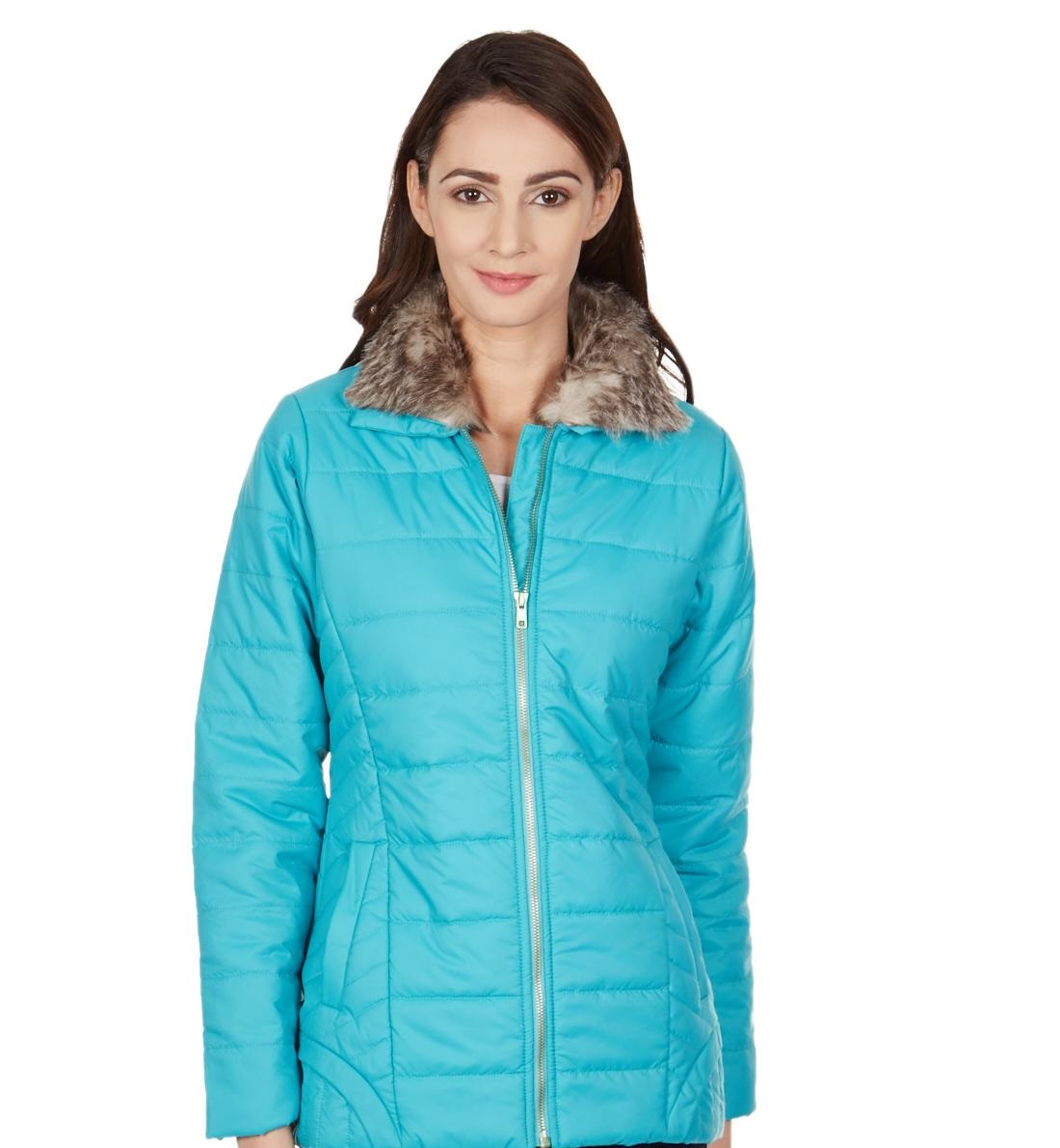 Monte Carlo ferozi parachute winter jacket for ladies