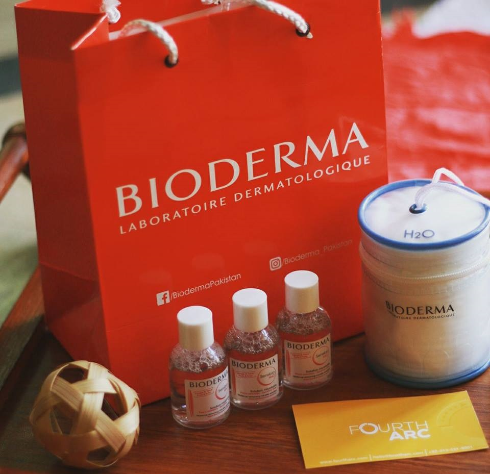 Bioderma Products sent with invitation to the Bloggers