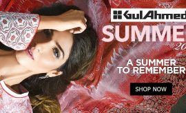Gul Ahmed Spring Summer Lawn 2017-2018 Designs with Prices