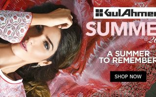 Gul Ahmed Lawn 2017 - 2018 Summer Collection