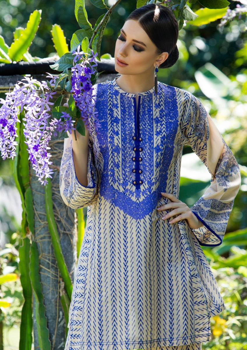 Gul Ahmed Lawn 2018 Summer Collection With Prices