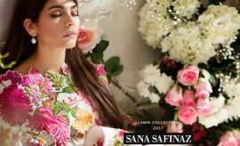 Sana Safinaz Spring Summer Lawn 2017-2018 Collection With Prices