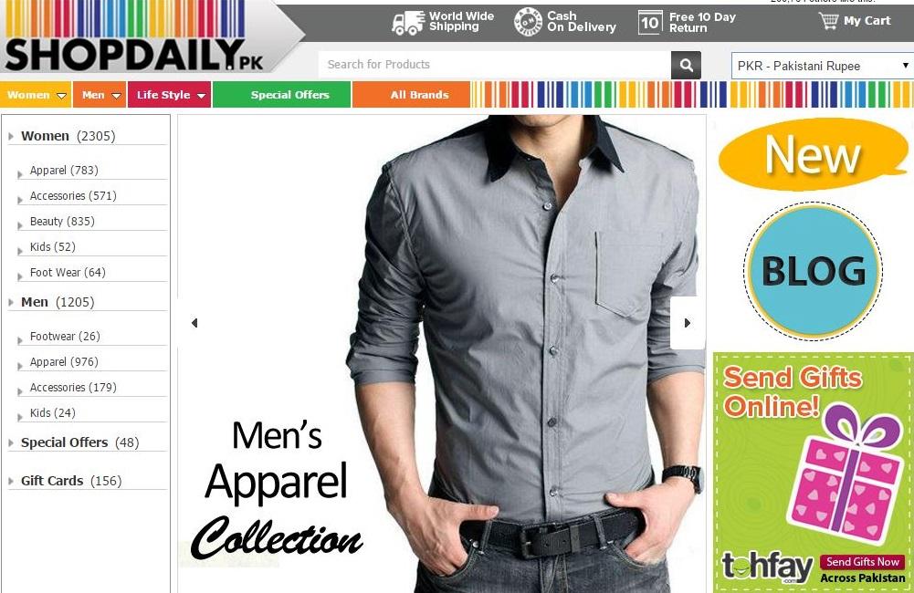 Shopdaily Online Shopping Portal