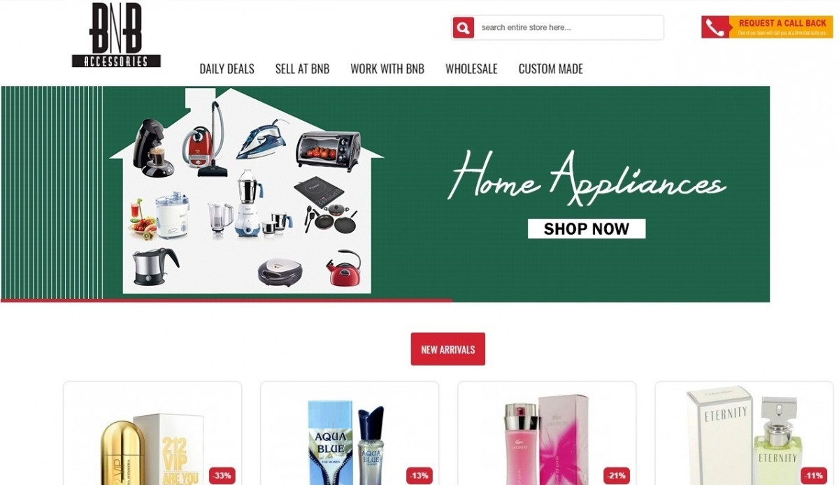 Pakistani Online Shopping Websites - BNBaccesssories