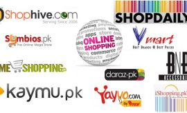 Top 10 Highly Ranked Online Shopping Stores in Pakistan