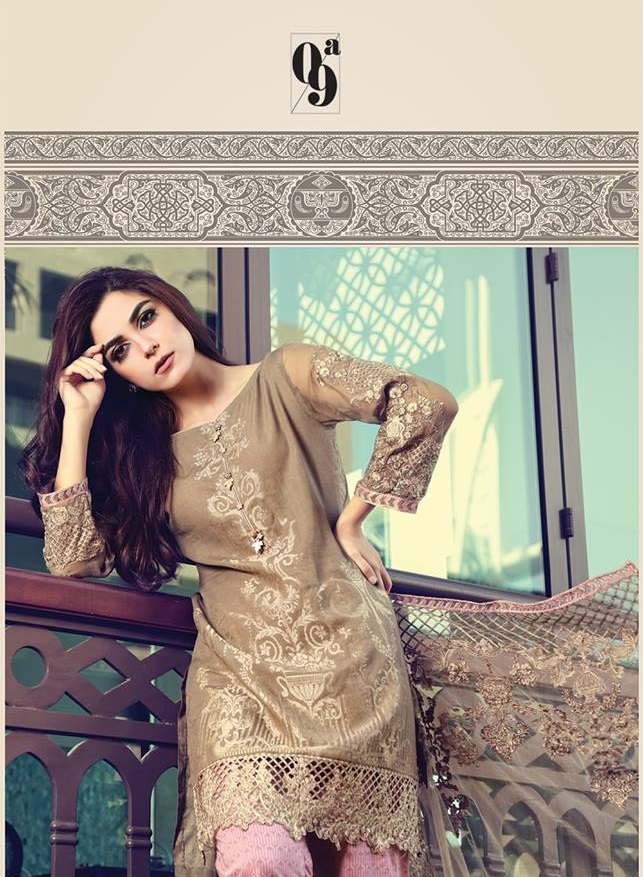 Maria B Summer Dresses 2017 Designs (1)