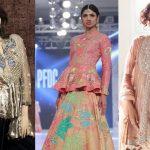 Trendy Pakistani Designer Peplum Frocks