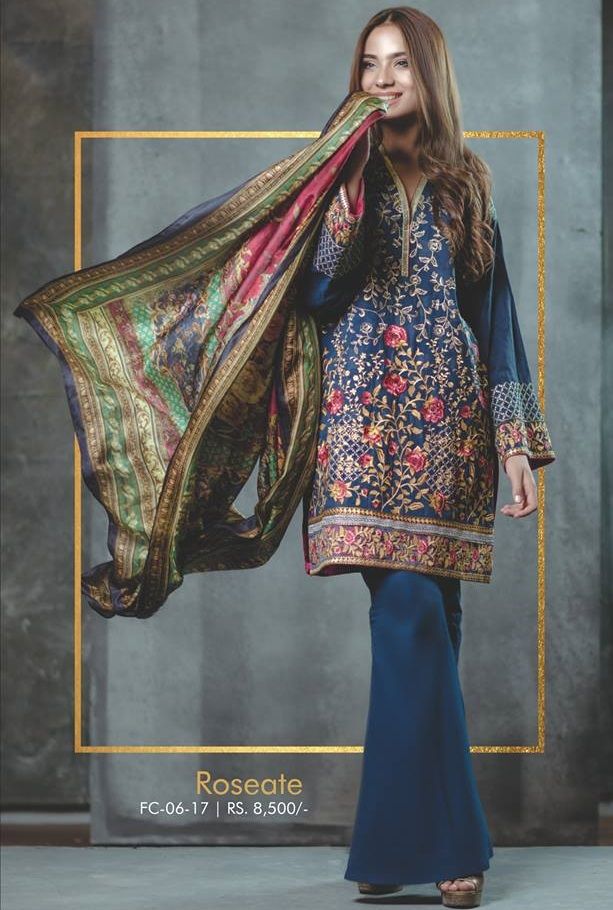 7207eb0c39 ... a perfect idea of festival wear. Are you ready to shine like Alyzeh  Gabol this Eid by wearing Alkaram? If so then get this incredible design in  8,500/-