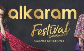 Alkaram Festival Collection 2017 featuring Mahira Khan & Alyzeh Gabol