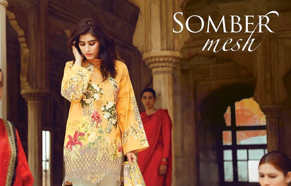 Cross Stitch Eid Dresses 2017-2018 (1)