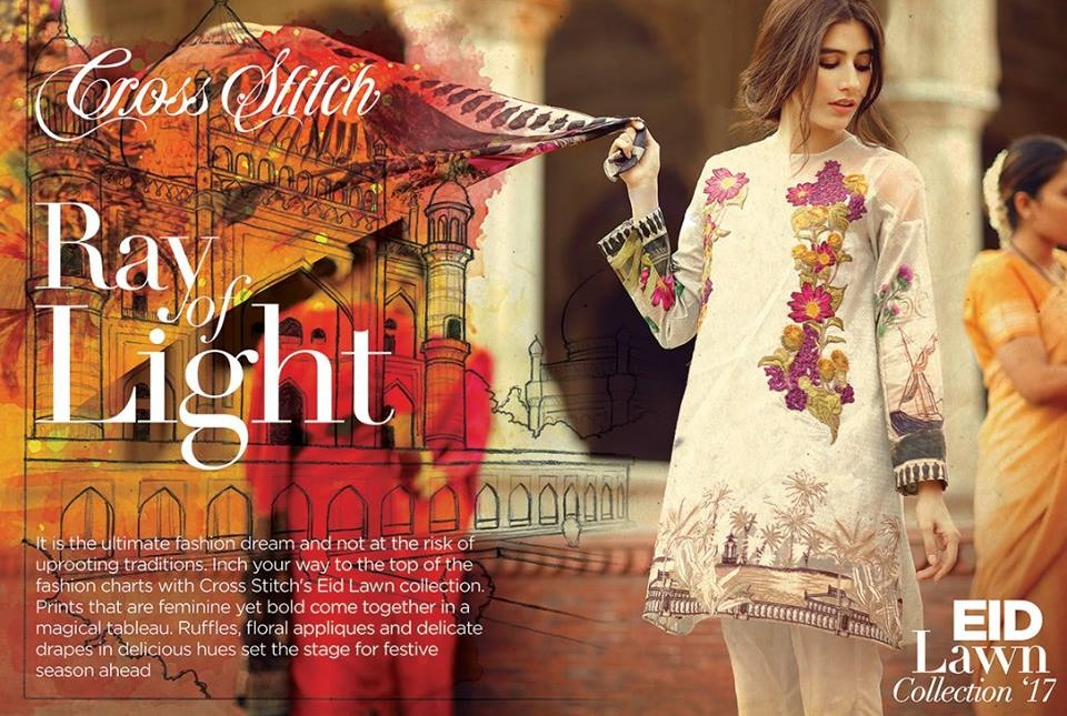 Cross Stitch Eid Dresses 2017-2018 (5)