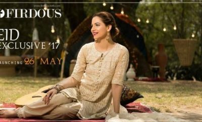 Firdous Eid Lawn 2017 Collection