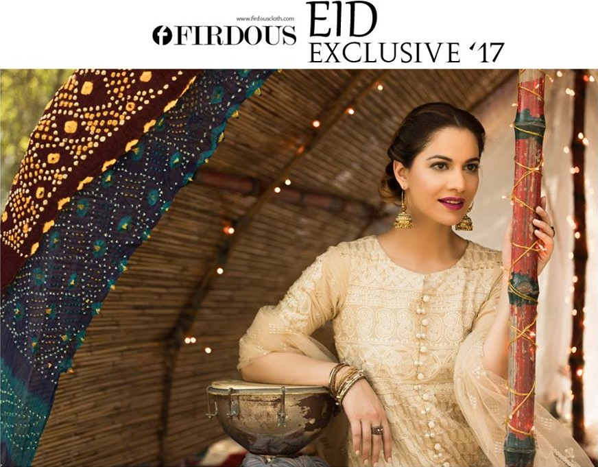 Firdous Eid Collection 2017