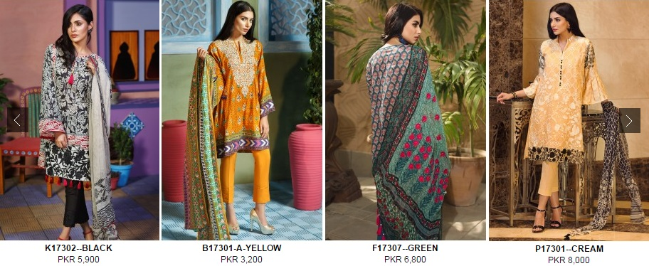 Firdous Eid Lawn 2017 with Prices