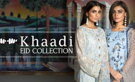 Khaadi Eid Lawn 2017-2018 with Exciting Eid Prints this Festive Season