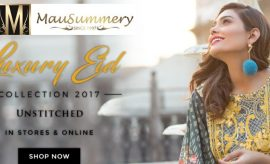 Mausummery Luxury Eid Collection 2017 Catalogue with Prices