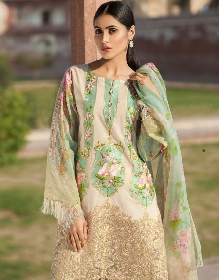 Mausummery Ready-made Eid Dress for Ladies