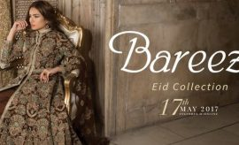 Bareeze New Festive Eid Embroidered Collection 2017 Catalogue