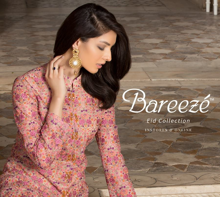 36e855bfc52 Bareeze Eid Collection 2018 Beautiful Fancy Eid Dresses