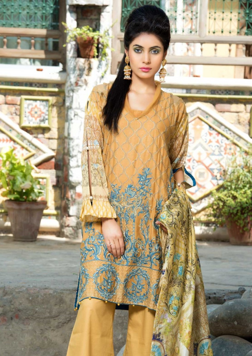 Warda Designer Lawn Eid Dress