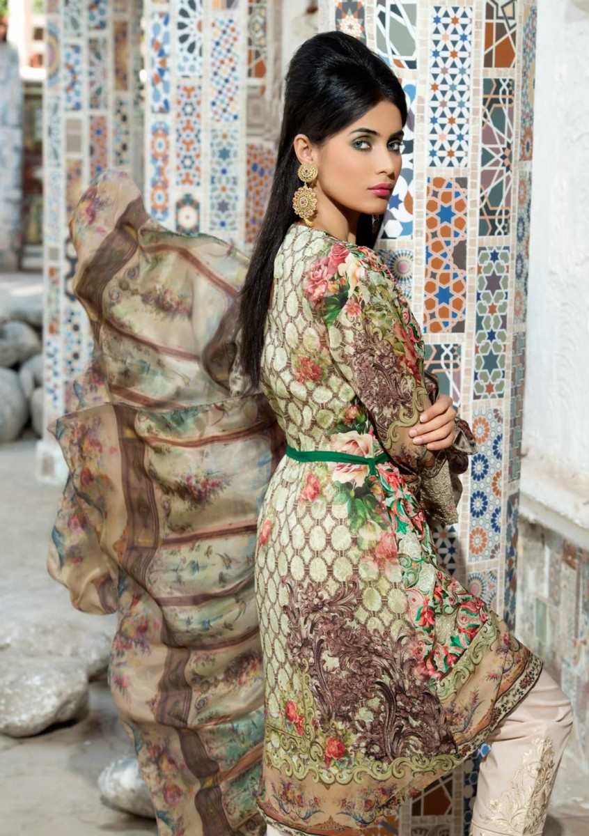 Warda Embroidered Eid Dress