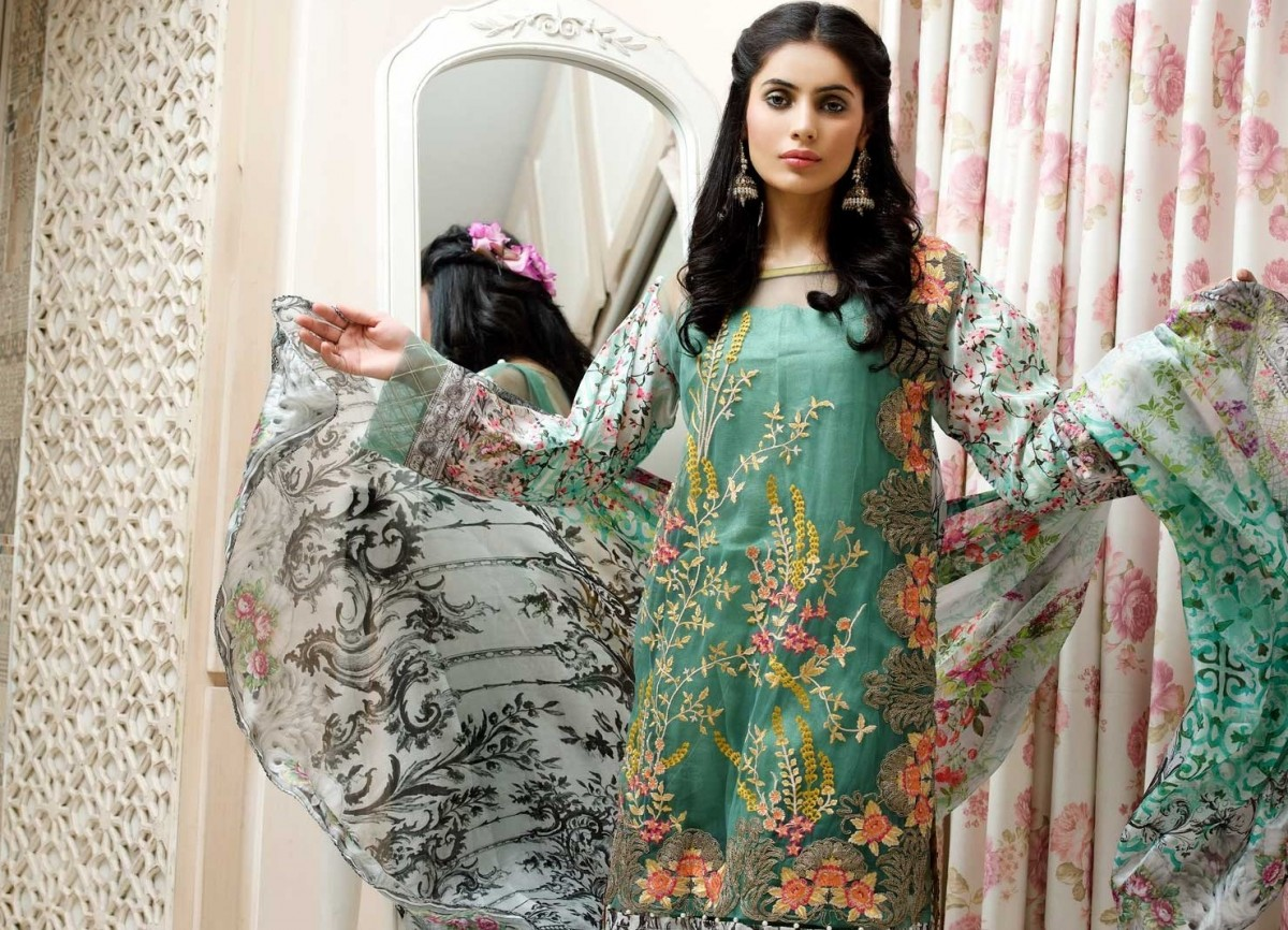 Warda Eid Dresses 2017-2018