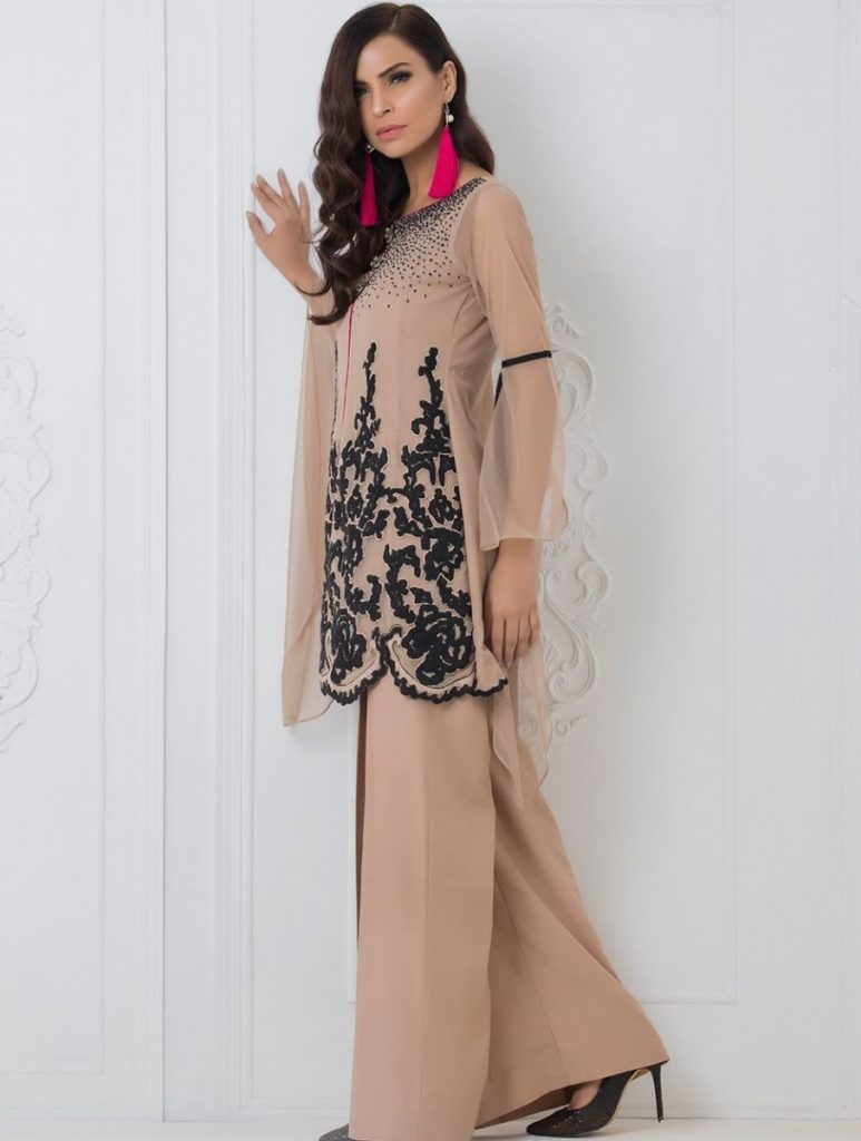 Zainab Chottani Formal Eid Dresses 2017-2018 (6)
