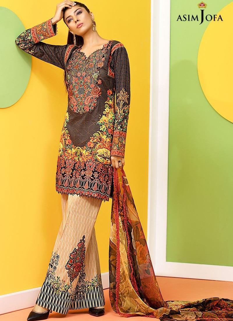 Asim Jofa eid dresses 2017
