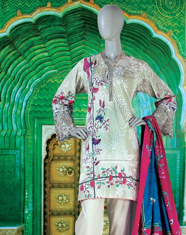 Junaid Jamshed festival dress 2017
