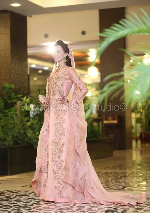 Mariam Bukhari Walima dress for brides