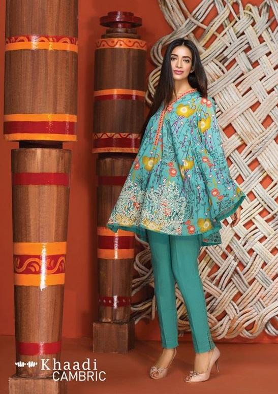 Pakistani dresses stitching styles 2018